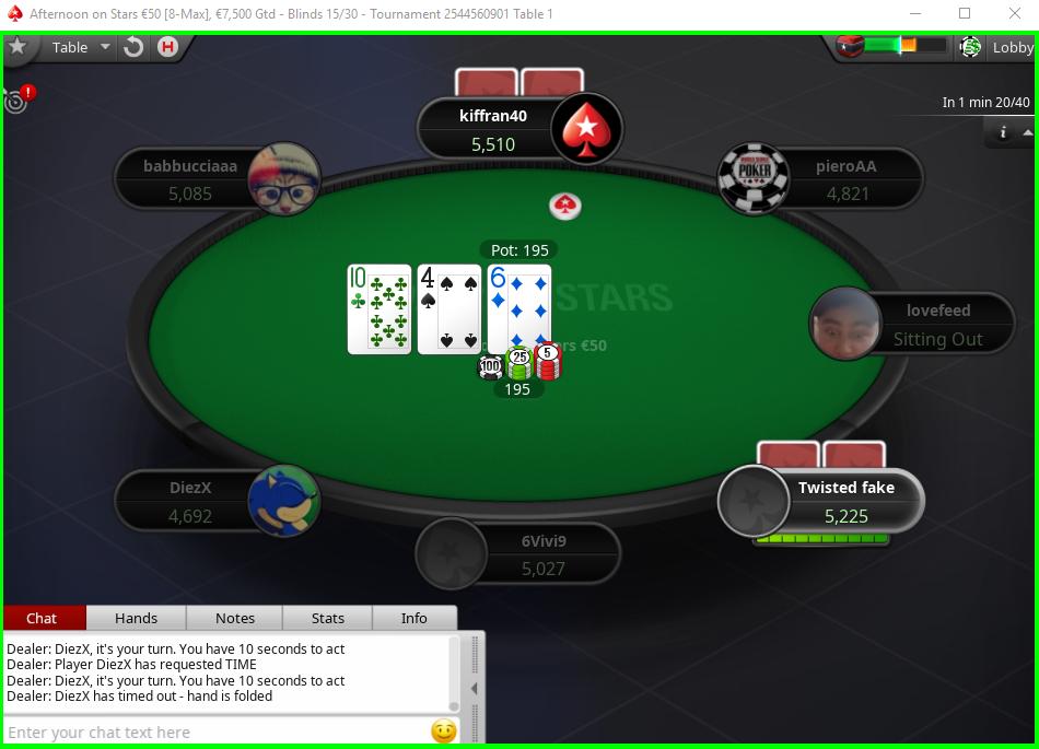 Aurora PokerStars