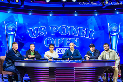 Final Table evento 6 US Poker Open